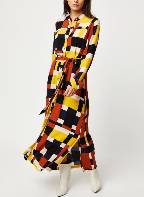 Vêtements Selected Femme Slfhadley Dress Marron vue droite