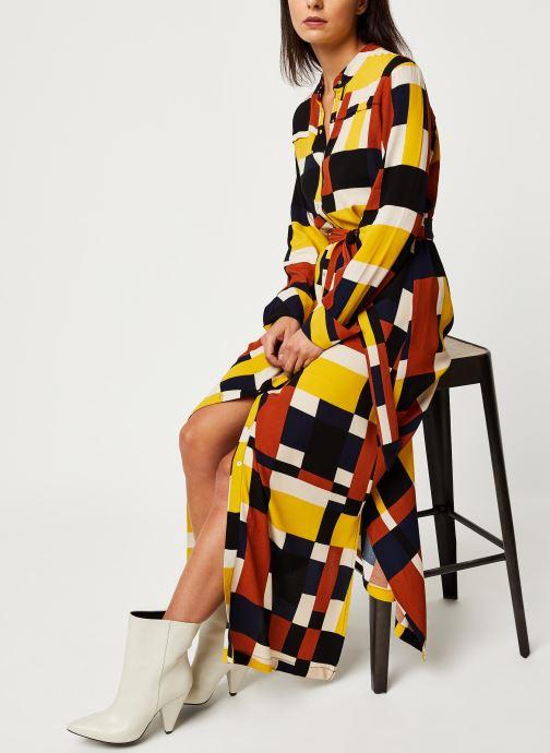 Vêtements Selected Femme Slfhadley Dress Marron vue détail/paire