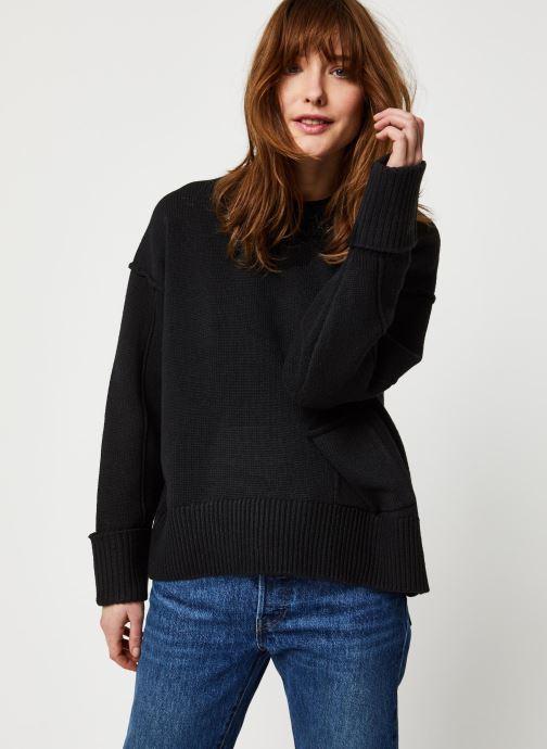 Kleding Selected Femme Slfcaroline Knit Zwart rechts