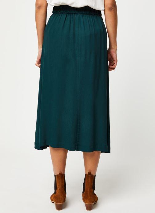 Vêtements Selected Femme Slfbisma Skirt Vert vue portées chaussures