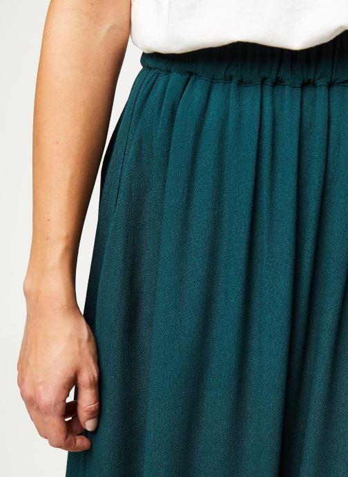 Vêtements Selected Femme Slfbisma Skirt Bleu vue face