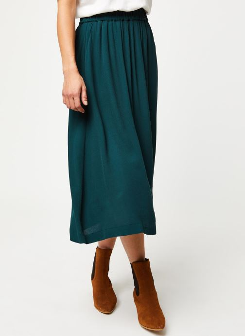 Vêtements Selected Femme Slfbisma Skirt Vert vue détail/paire