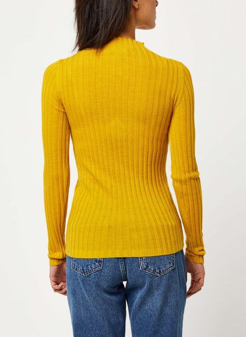 Kleding Selected Femme Slflima Knit Geel model