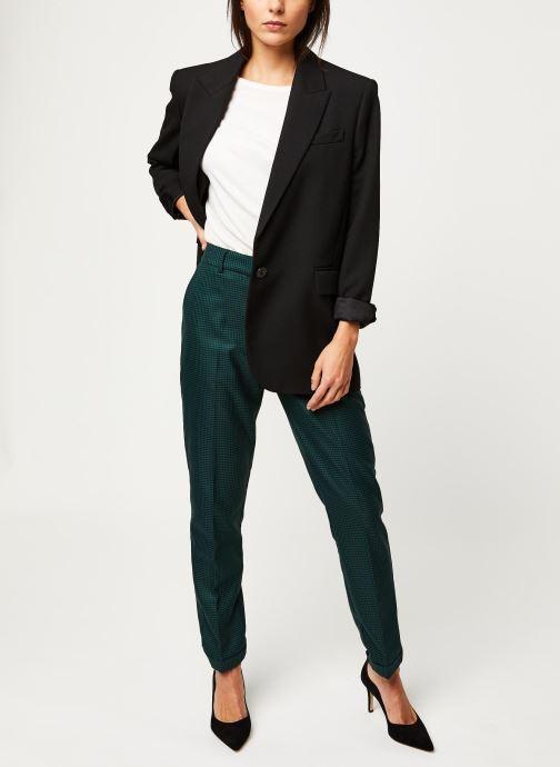 Vêtements Selected Femme Slfluna Pant Noir vue bas / vue portée sac