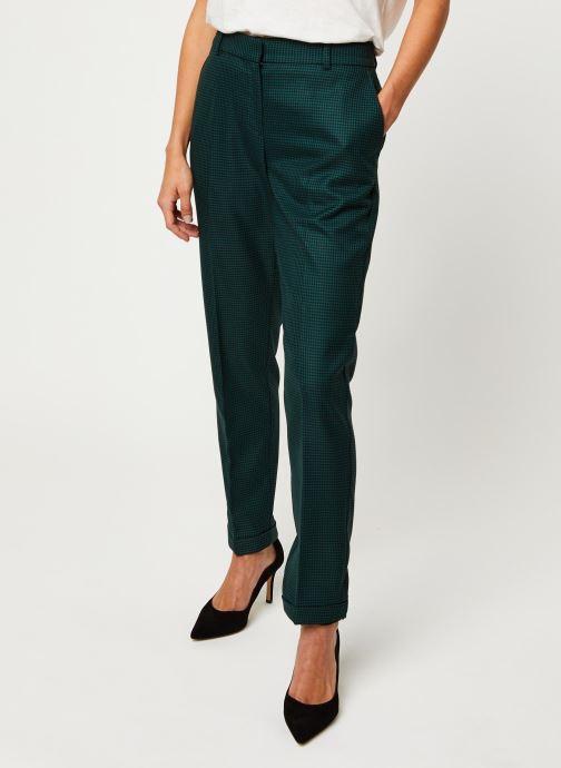 Vêtements Selected Femme Slfluna Pant Noir vue détail/paire