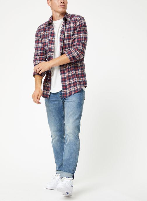 Vêtements Selected Homme Slhslimharry Shirt Rouge vue bas / vue portée sac