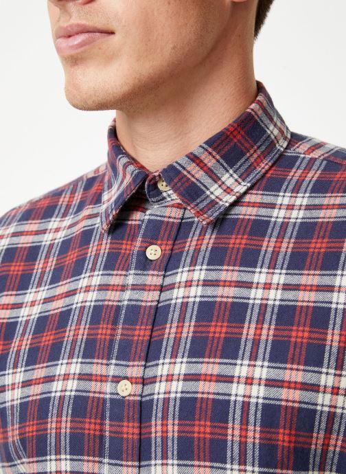 Vêtements Selected Homme Slhslimharry Shirt Rouge vue face