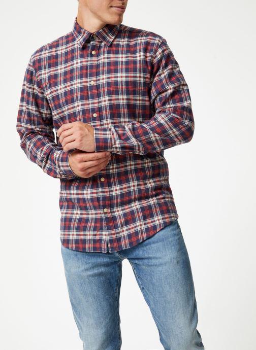 Vêtements Selected Homme Slhslimharry Shirt Rouge vue droite