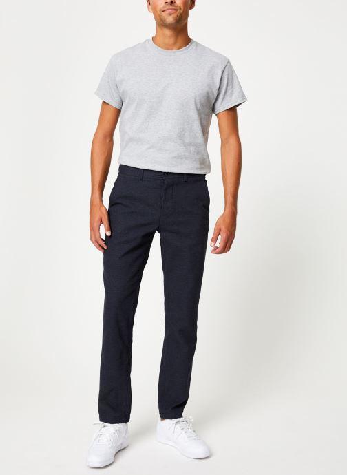 Vêtements Selected Homme Slhslim-Floyd Pant Bleu vue bas / vue portée sac