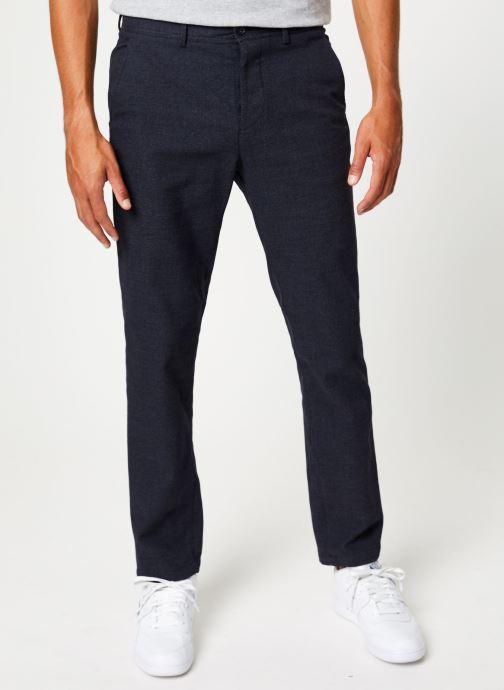 Vêtements Selected Homme Slhslim-Floyd Pant Bleu vue détail/paire