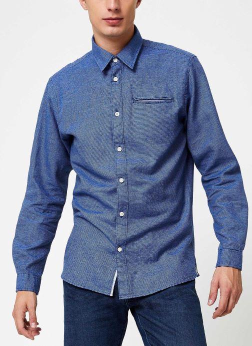 Vêtements Selected Homme Slhslimbob Shirt Bleu vue détail/paire