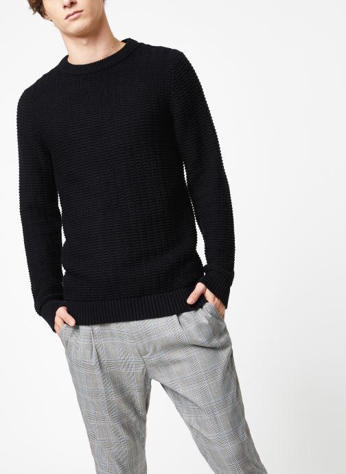 Vêtements Selected Homme Slhrolf Structure Noir vue droite