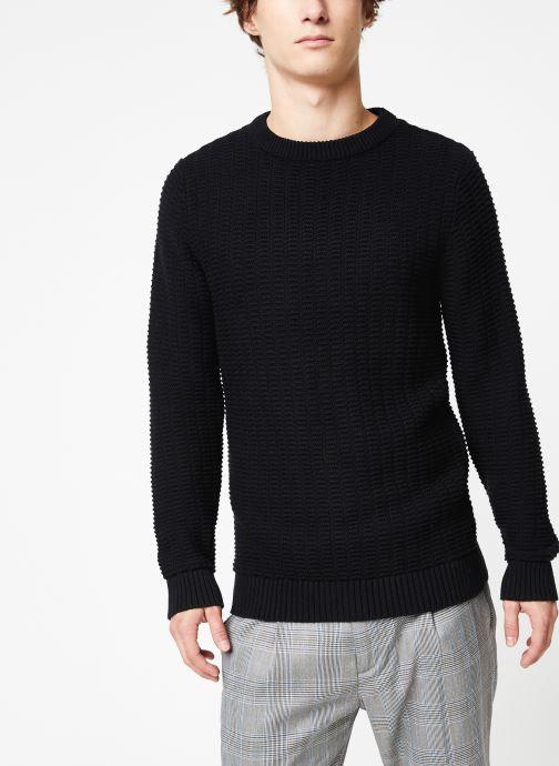 Vêtements Selected Homme Slhrolf Structure Noir vue détail/paire