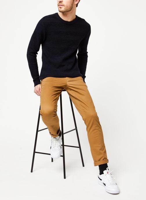 Vêtements Selected Homme Slharthur Knit Noir vue bas / vue portée sac