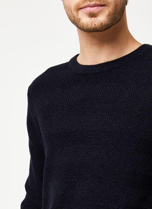 Vêtements Selected Homme Slharthur Knit Noir vue face