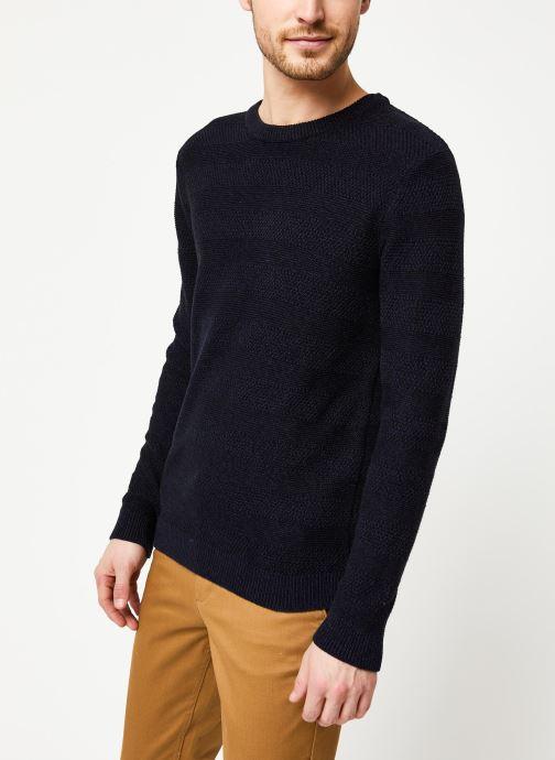 Vêtements Selected Homme Slharthur Knit Noir vue droite