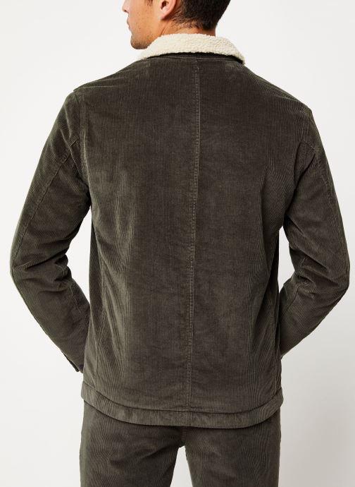 Vêtements Selected Homme Slhjackson Jacket Noir vue portées chaussures