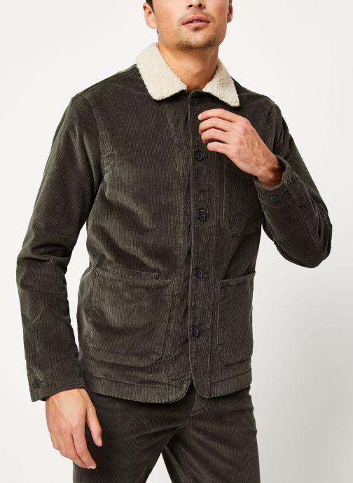 Vêtements Selected Homme Slhjackson Jacket Noir vue droite