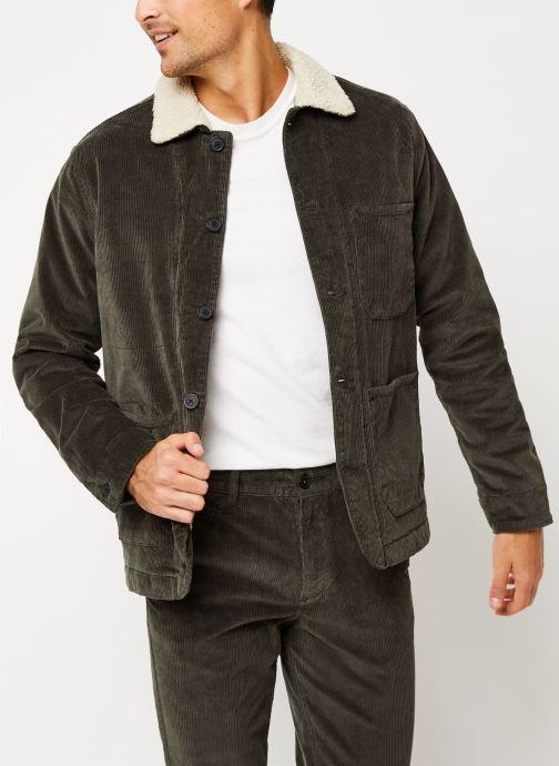 Vêtements Selected Homme Slhjackson Jacket Noir vue détail/paire