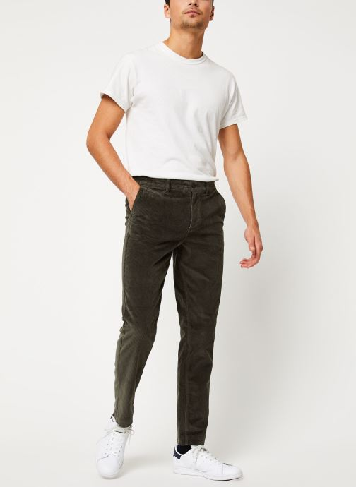 Vêtements Selected Homme Slhslim-Ryan Pants Noir vue bas / vue portée sac