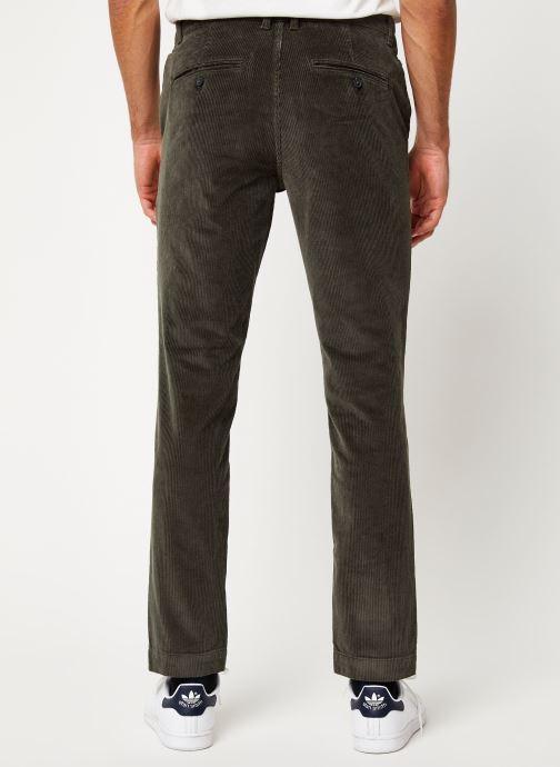 Vêtements Selected Homme Slhslim-Ryan Pants Noir vue portées chaussures