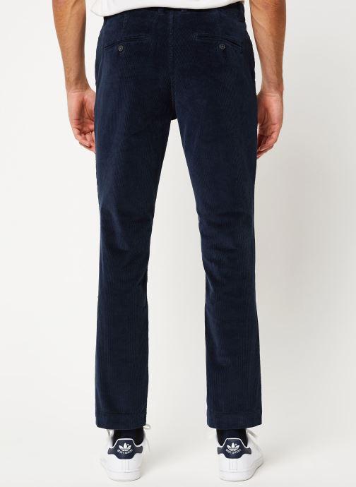 Vêtements Selected Homme Slhslim-Ryan Pants Bleu vue portées chaussures