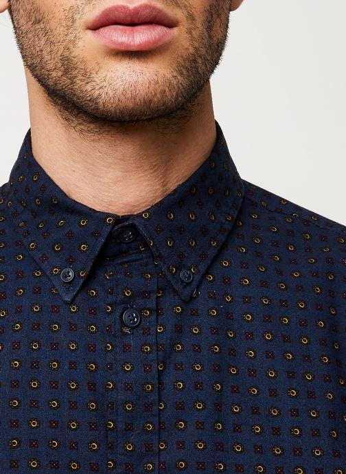 Vêtements Selected Homme Slhslimhoward Shirt Bleu vue face