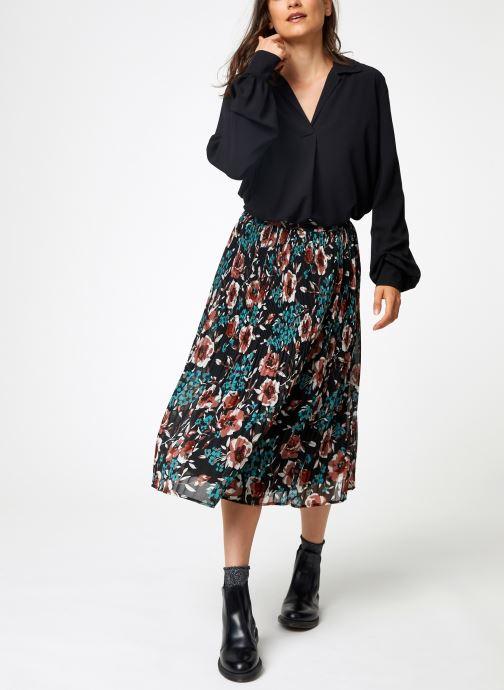 Vêtements Y.A.S Yascamelia Skirt Noir vue bas / vue portée sac