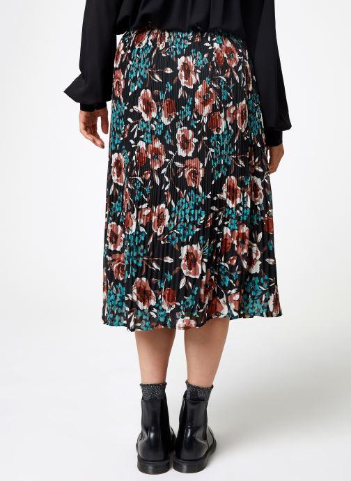 Vêtements Y.A.S Yascamelia Skirt Noir vue portées chaussures
