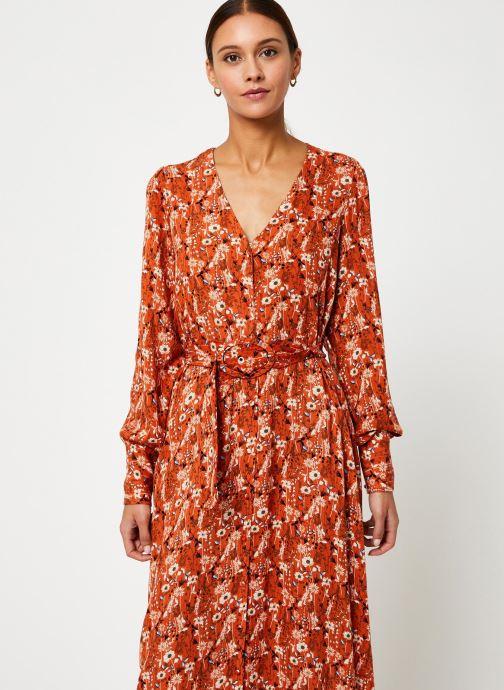 Kleding Y.A.S Yaskathleen Dress Rood detail