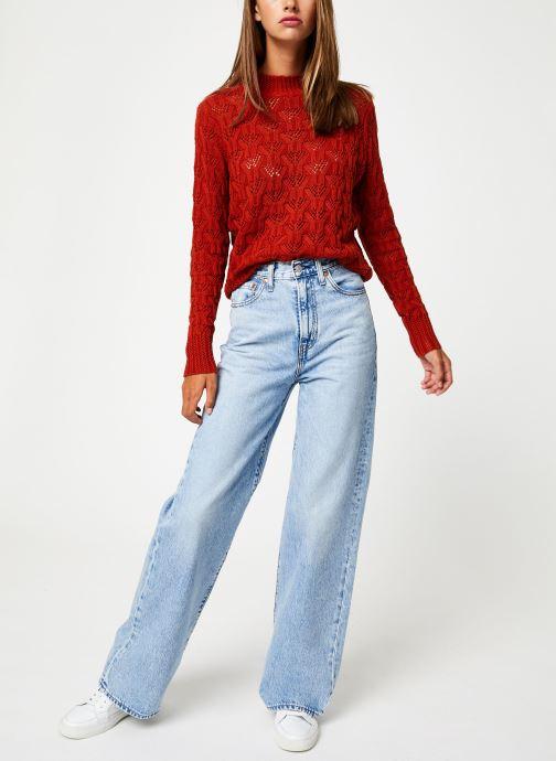 Vêtements Y.A.S Yasserena Knit Rouge vue bas / vue portée sac