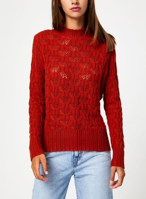 Vêtements Y.A.S Yasserena Knit Rouge vue droite
