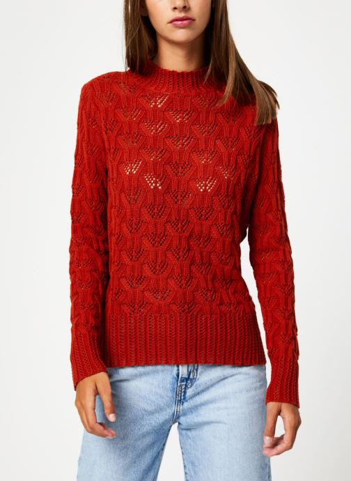 Kleding Y.A.S Yasserena Knit Rood rechts