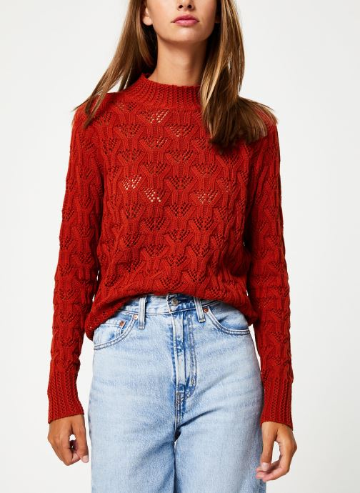Kleding Y.A.S Yasserena Knit Rood detail