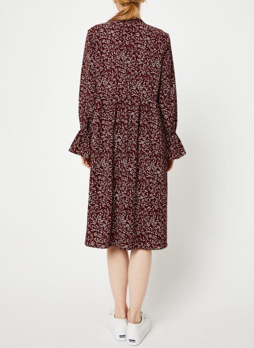 Vêtements Y.A.S Yasfilax Dress Rouge vue portées chaussures
