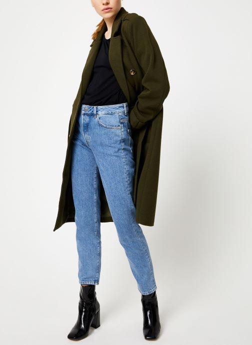 Vêtements Y.A.S Yaschadro Coat Vert vue bas / vue portée sac