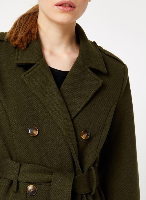 Vêtements Y.A.S Yaschadro Coat Vert vue face