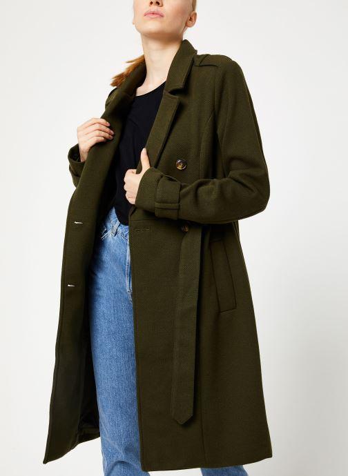 Vêtements Y.A.S Yaschadro Coat Vert vue droite
