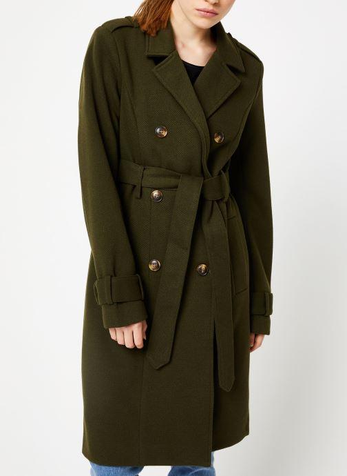 Vêtements Y.A.S Yaschadro Coat Vert vue détail/paire