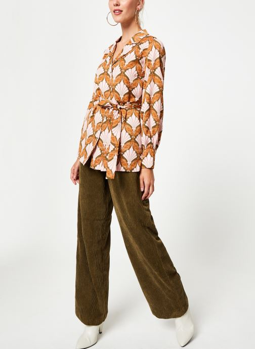 Kleding Y.A.S Yasgabrielle Shirt Oranje onder