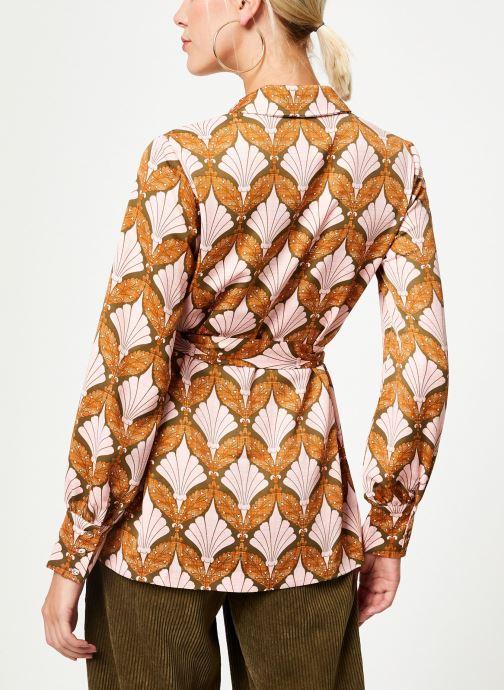 Kleding Y.A.S Yasgabrielle Shirt Oranje model