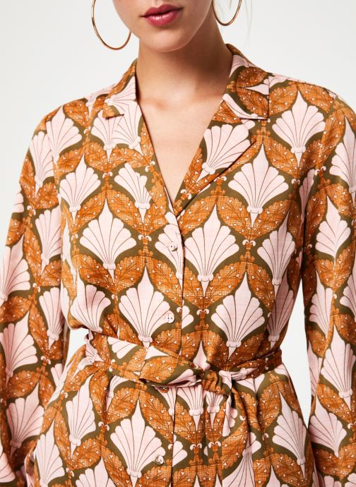 Kleding Y.A.S Yasgabrielle Shirt Oranje voorkant