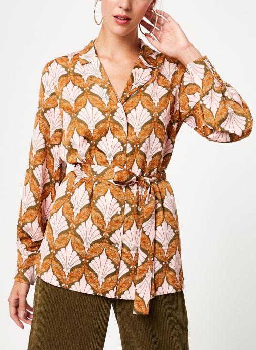 Kleding Y.A.S Yasgabrielle Shirt Oranje rechts