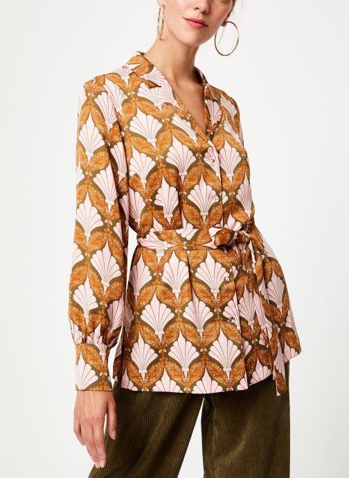 Kleding Y.A.S Yasgabrielle Shirt Oranje detail