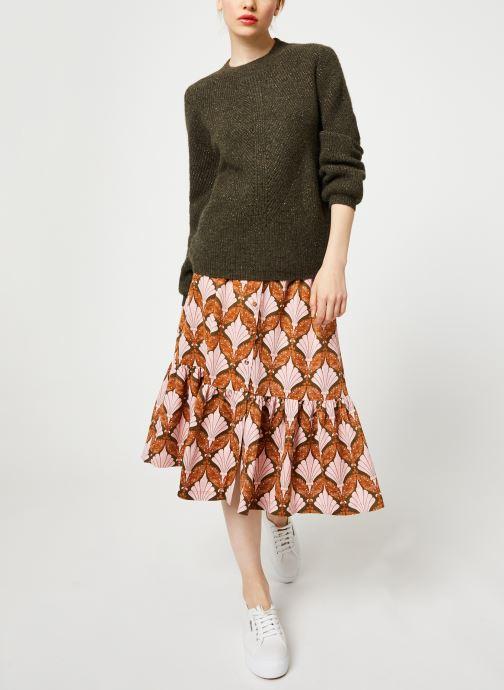 Vêtements Y.A.S Yasgabrielle Midi Orange vue bas / vue portée sac