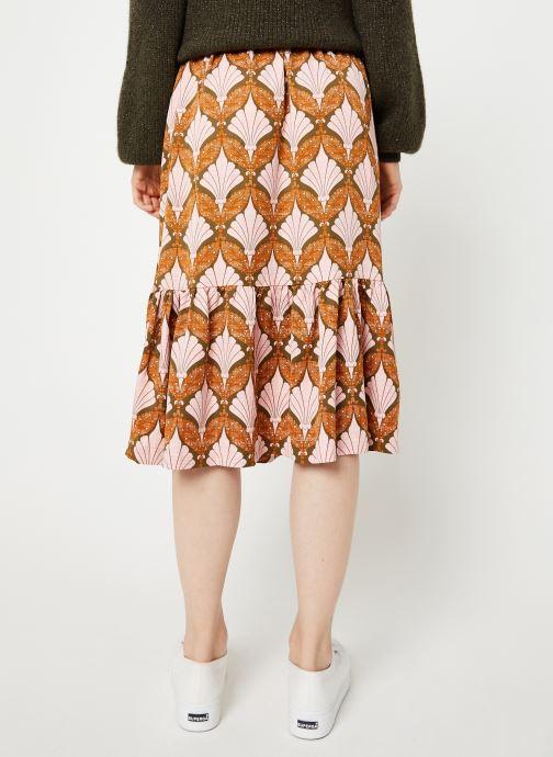 Vêtements Y.A.S Yasgabrielle Midi Orange vue portées chaussures