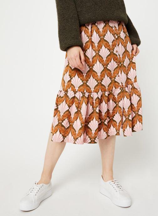 Vêtements Y.A.S Yasgabrielle Midi Orange vue détail/paire