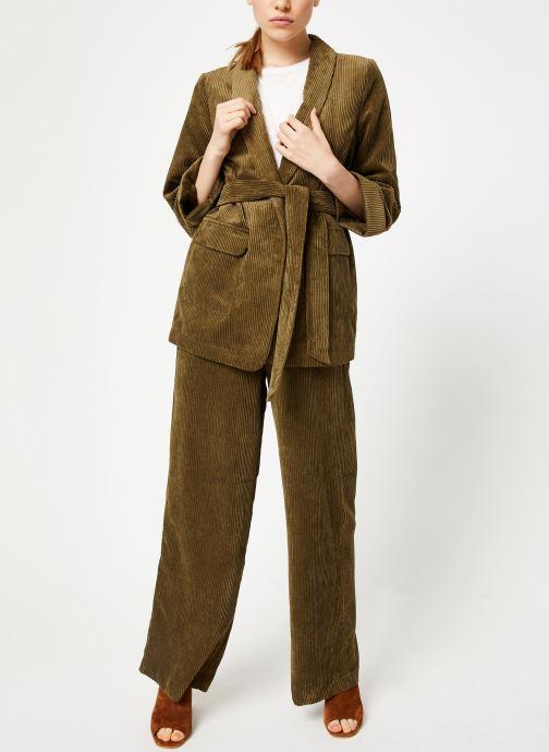 Vêtements Y.A.S Yasroya Blazer Vert vue bas / vue portée sac