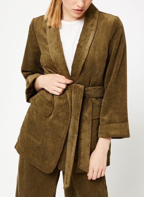 Vêtements Y.A.S Yasroya Blazer Vert vue droite