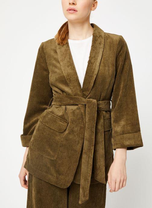 Vêtements Y.A.S Yasroya Blazer Vert vue détail/paire